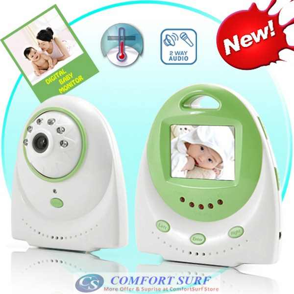 2.4' LCD Wireless Baby Monitor Camera With 2 ways Voice