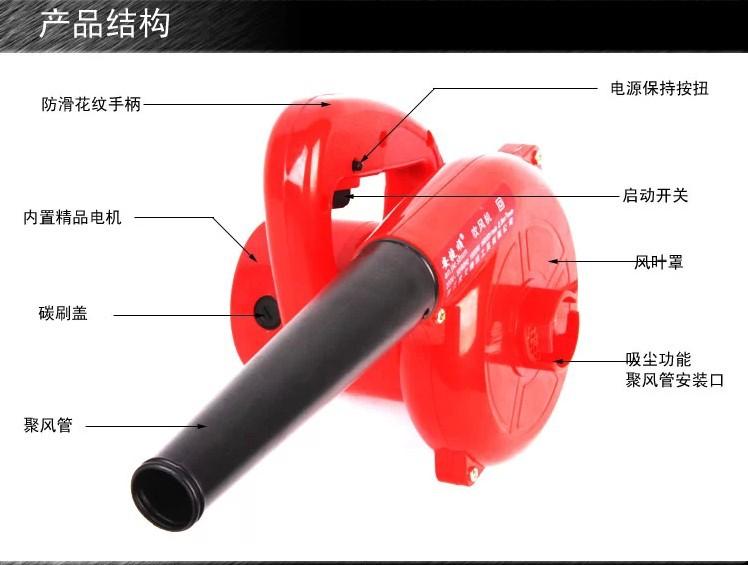 Blower Air Cleaner : Portable w electric blower vacuum powerful air