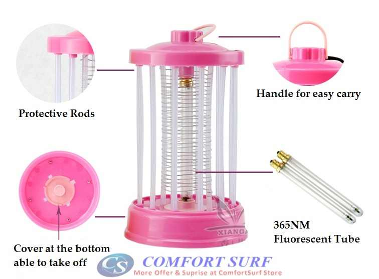 Electric Saving Mini Portable Electrical Mosquito Killer Lamp