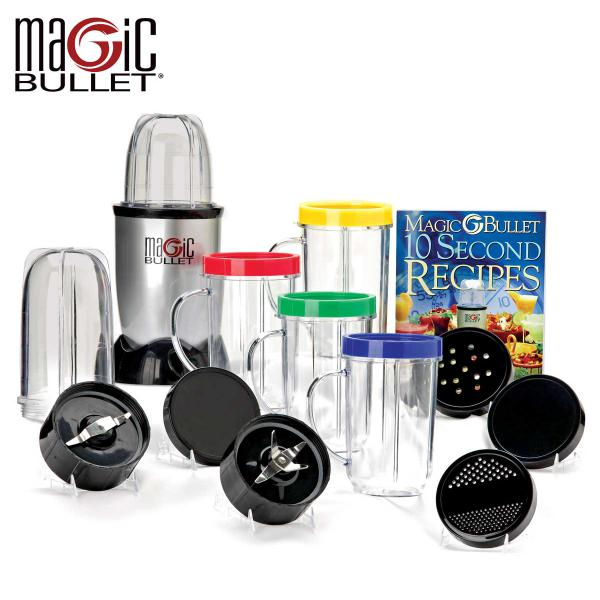 21 PCS Set High Speed Juicer Magic Bullet Blender Mixer Food Processor