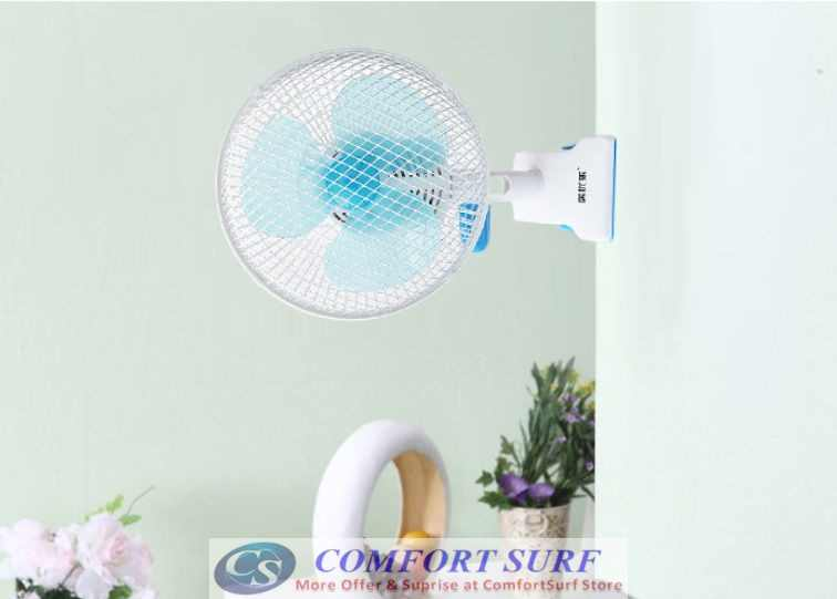Mini Portable Strong Wind Blow Rotatable Fan with Stand Holder Clip