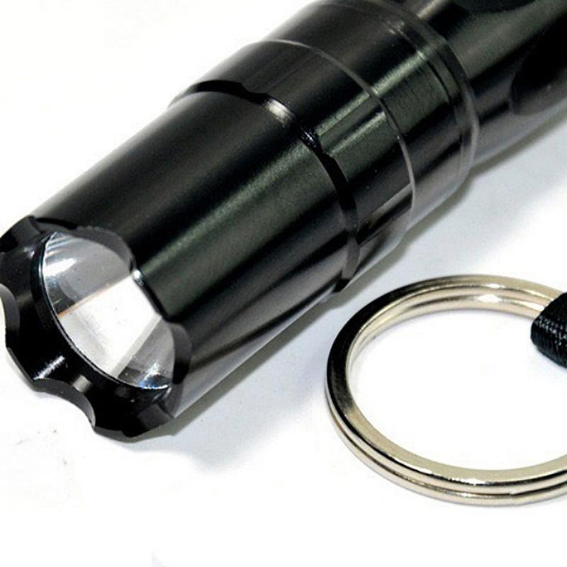 3W Aluminium Case Mini LED Focus Light Camping Torchlight