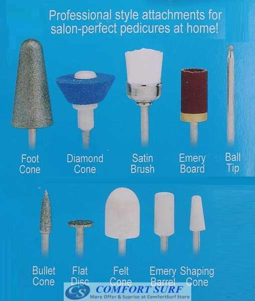 Pedi Pistol - Professional & Perfect Pedicures Without Bending