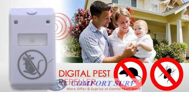 Riddex Plus Digital Pest Repelling Aid