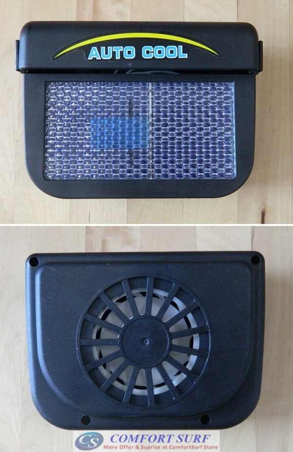Auto Cool Solar Powered Fan
