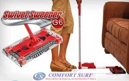 Cordless Swivel Sweeper G6