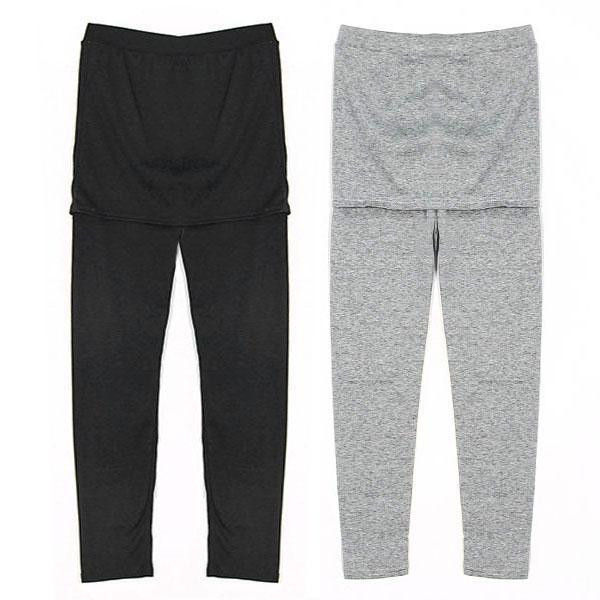 Bottom Pants Mini Skirt Leggings Stretch Elastic Waist Slim Hip Ladies