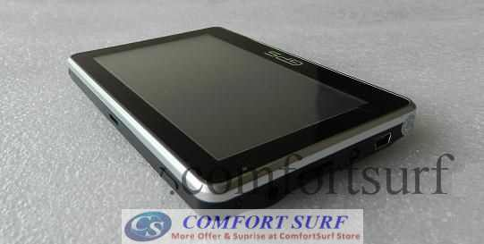 4.3 inch SLIM & Stylish Touch Screen GPS Navigator and Multimedia Player