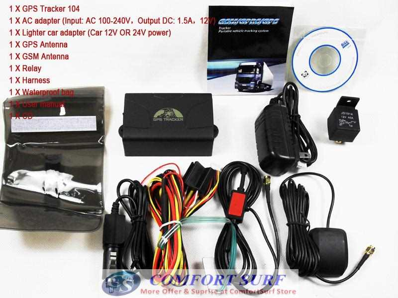 Thinpax TK104 GPS Tracker