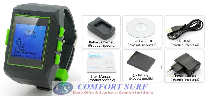 GSM / GPRS / GPS Watch Tracker