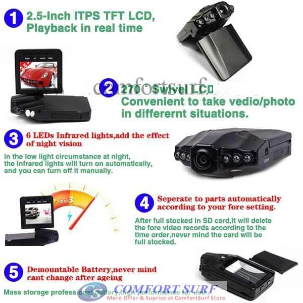 Инструкция hd portable dvr with 2 5 tft lcd screen