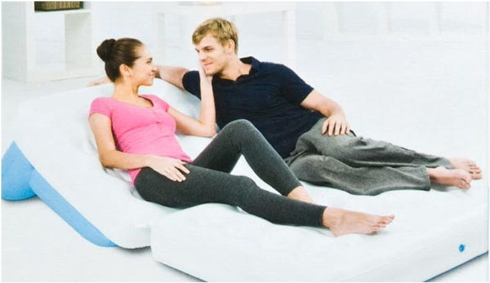 Original Multifunctional Bestway Inflatable Air Sofa Double Seats 75039 Sofa Pull-Out Seater