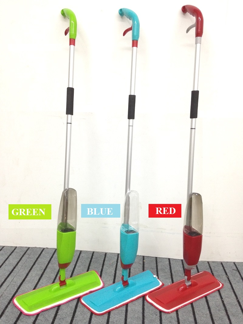 Crazy Offer!! New HT013 Quality Reusable Microfiber Healthy Spray Mop Floor Cleaning