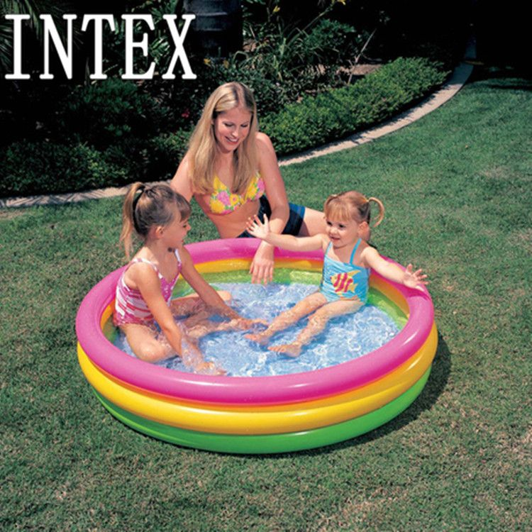 Intex Sunset Glow Inflatable Water Pool 58924 57412 57422 Kids Swimming Pool