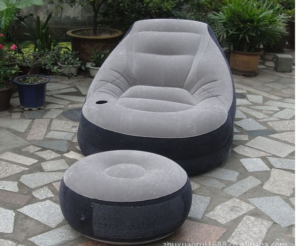 Intex 68564 Ultra Lounge Inflatable Relaxing Single Air