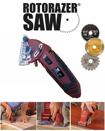 Rotorazer Saw The All-In-One Saw That Does It All !