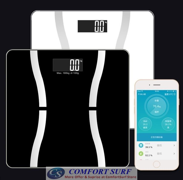 Composition Body Weight / Fat / Water / Muscle / Bone Substance / BMI / Calorie