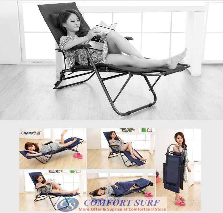 Portable & Foldable Sleeping Nap Lounge Chair