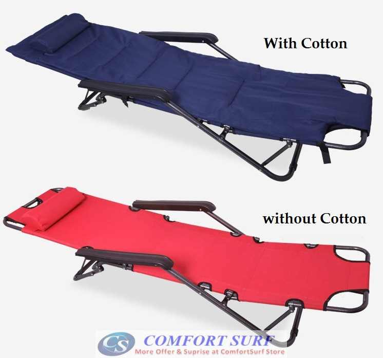 Portable Amp Foldable Four 178 Brand Sleeping Nap Lounge Chair