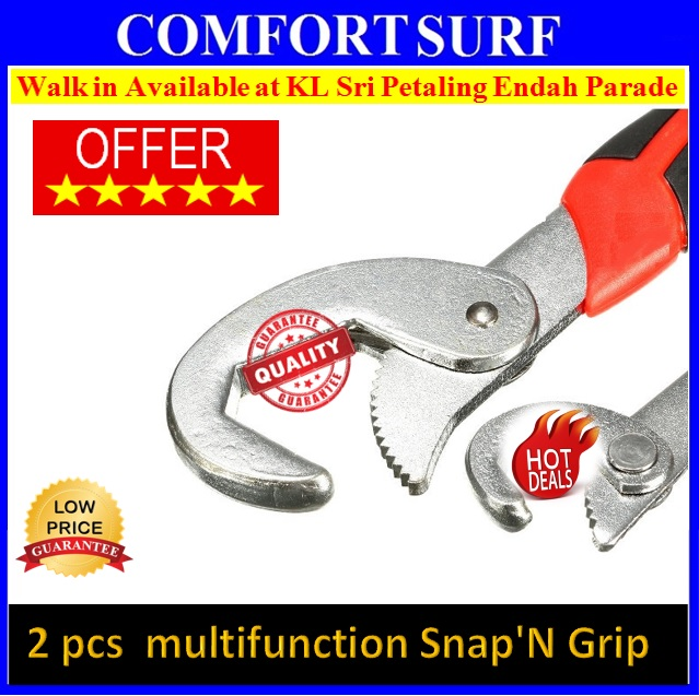 Set of adjustable grip wrenches/Spanner/quality/