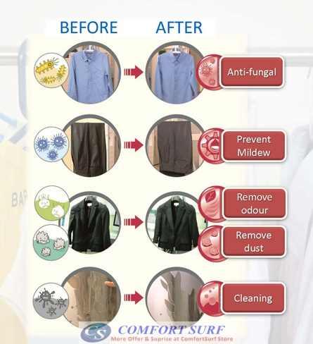 Professional Multifunction Standing Hanging Garment Tobi Steamer 1800W 1.4L!