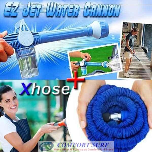 EZ Jet Water Cannon & Xhose