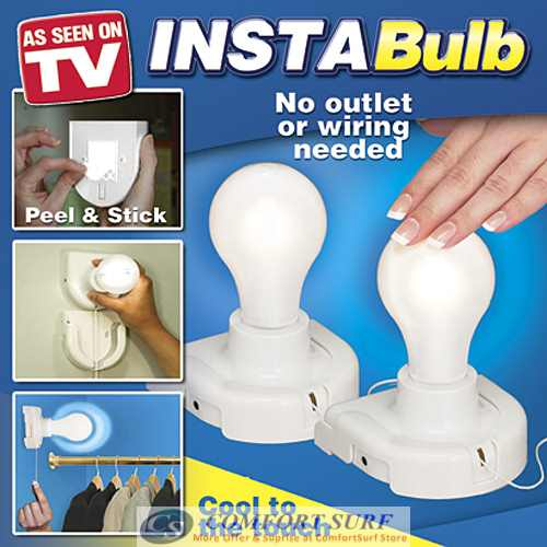 Insta Bulb - The Stick Up LED Light Bulb