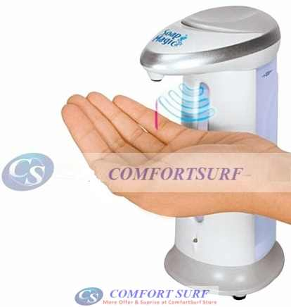 Soap Magic: Hands-Free Soap Dispenser