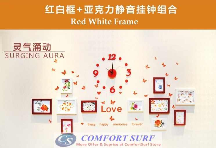 New Model 11 Pieces Elegant DIY Photo Wall Frame Decoration