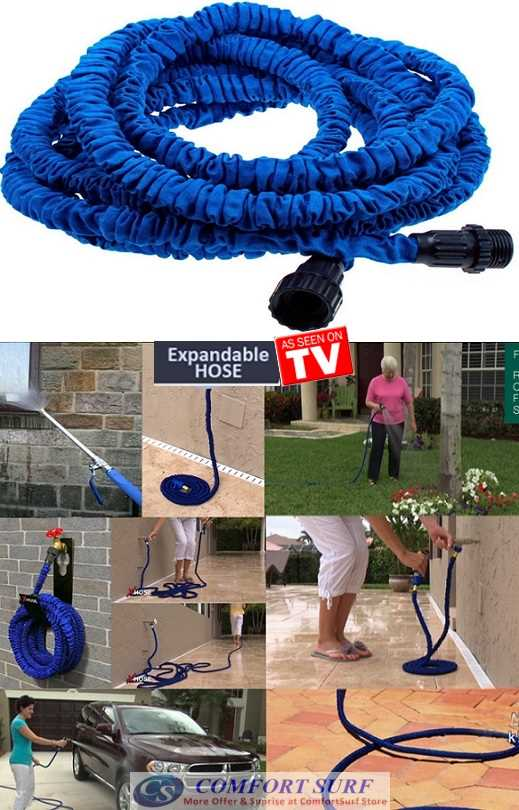 XHOSE The Incredible Expandable 3x & Contract Hose Sprayer