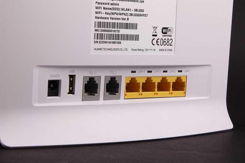 Fast 4G LTE 150Mbps Vodafone B3000 Huawei B593s-22 4G Cat 4 HSPA+ WCDMA WiFi Gateway Router