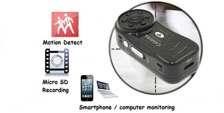 World Smallest MD81s-IR MD81s-6 P2P Wireless IP Camera With IR Night Vision Wifi Sport Mini DV Camcorder DVR Recorder