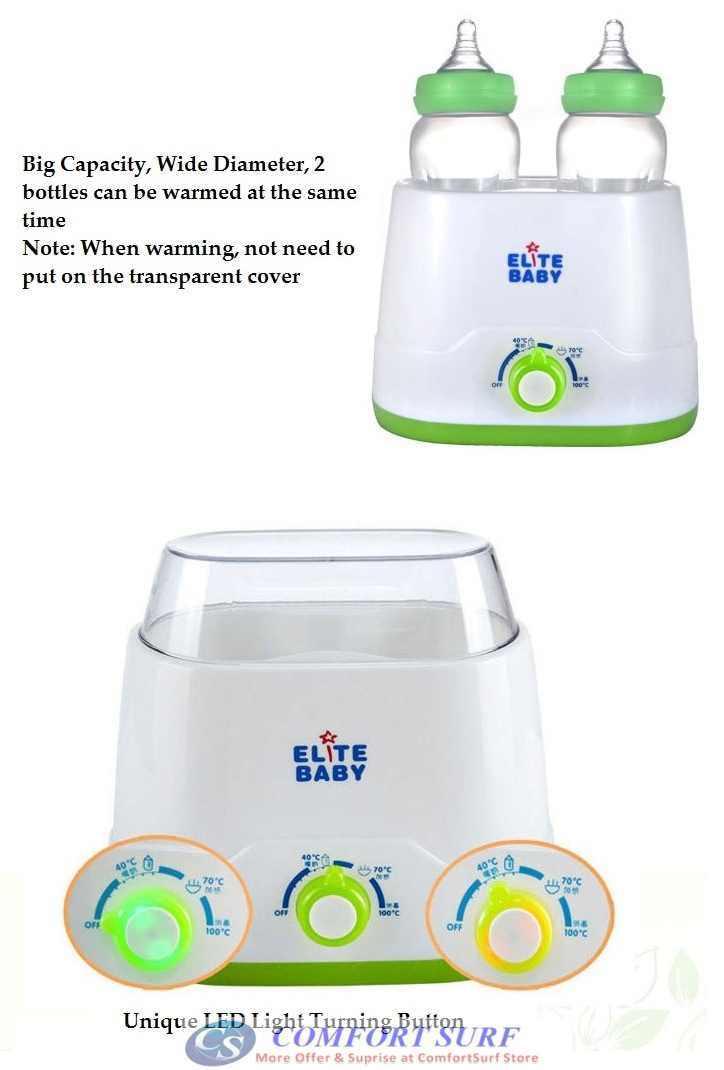Multifunction Double Baby Milk Bottle Warmer
