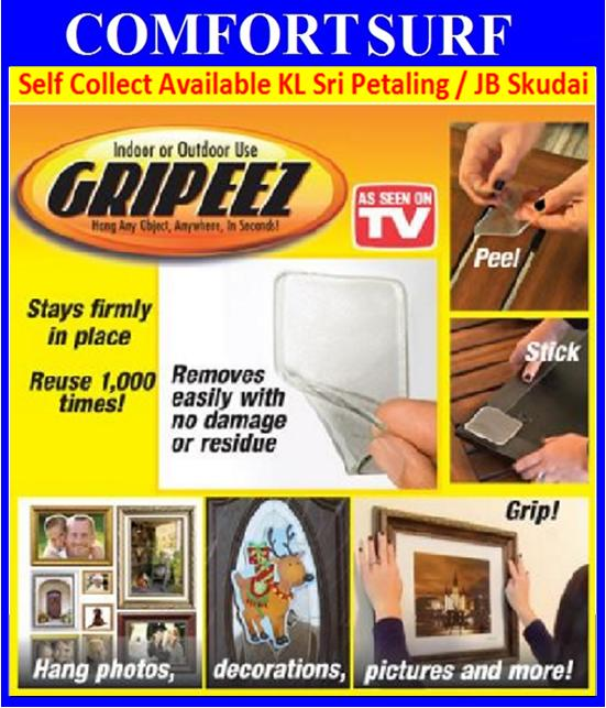 Gripeez StickPad Hang any Object,Anywhere, in seconds!