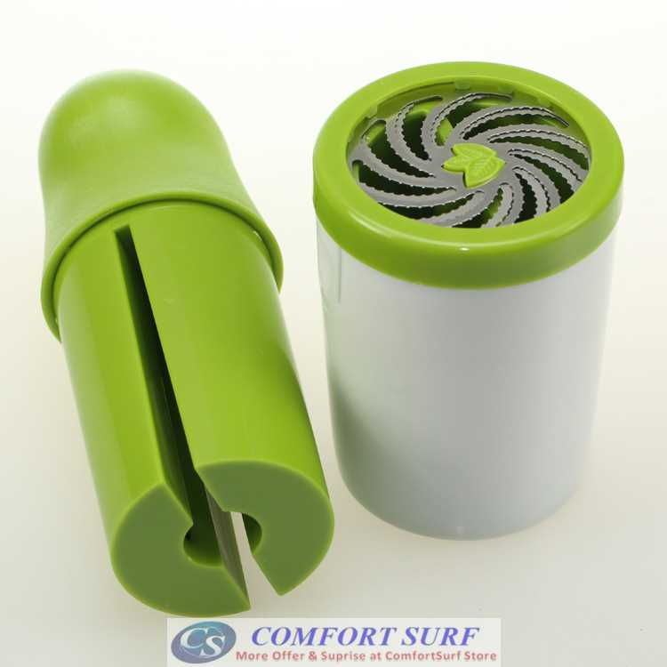 Herb / Vege / Mushroom Grinder Minces Quickly and Smoothly without rearing or bruising