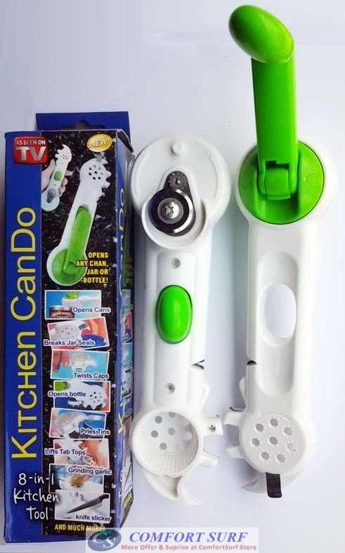 Multi-Function 8-in-1 Kitchen CanDo Opener