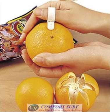 Creative & Easy Open Orange Skin Peeler