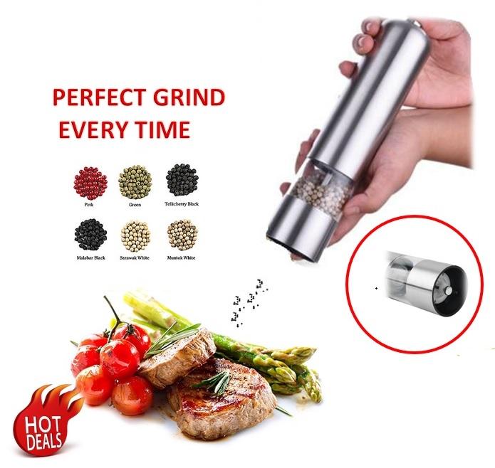 Electronic Pepper Muller/Ginder/Mill LED light