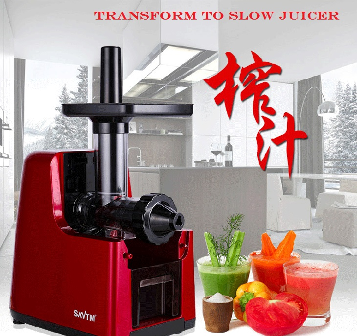 SAVTM Multifunction Automatic Noodle Maker & Slow Juice Processor