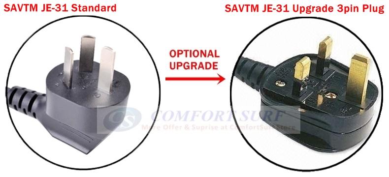 SAVTM JE-31 Whole Slow Juicer 100% Fresh Whole Fruit Juice Extraction Blender Maker