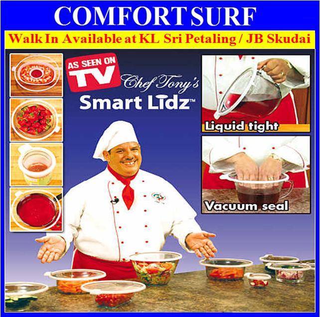 Smart Lidz Safe & Leak Proof Vacuum Seal