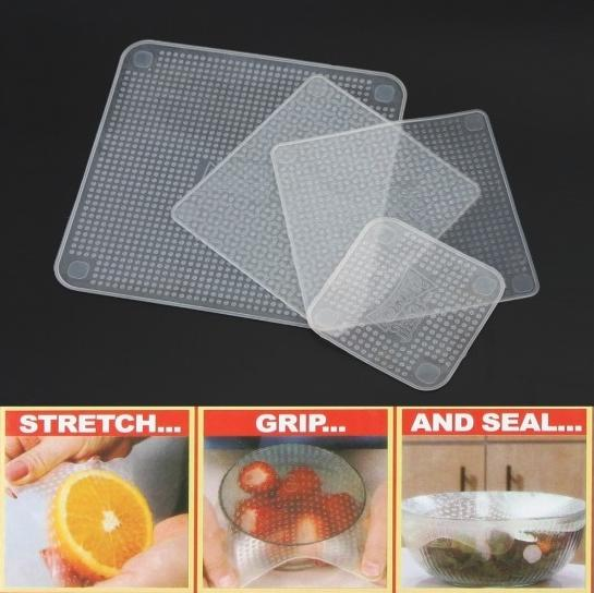 Stretch & Fresh Reusable Silicone Food Wrap