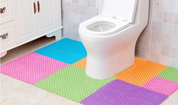 Bathroom Kitchen Toilet Living Room Anti Slippery Water Blockage Anti Slip Mat