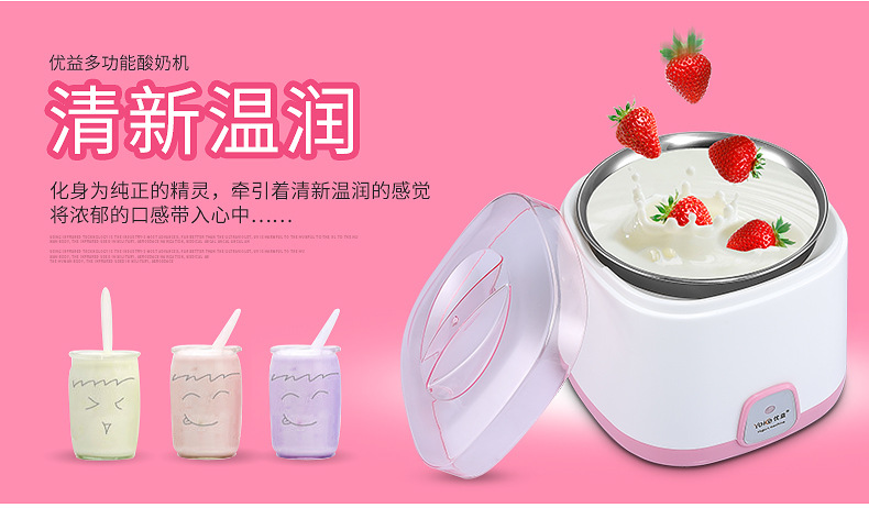 Yoice Yogurt Maker Healthy Homemade