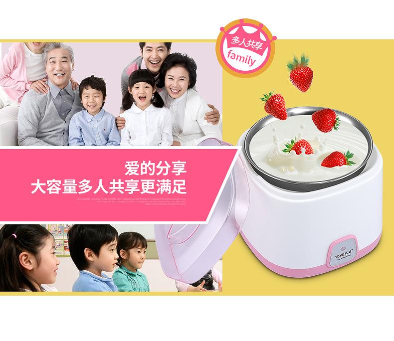 Yoice Yogurt Maker Healthy Homemade