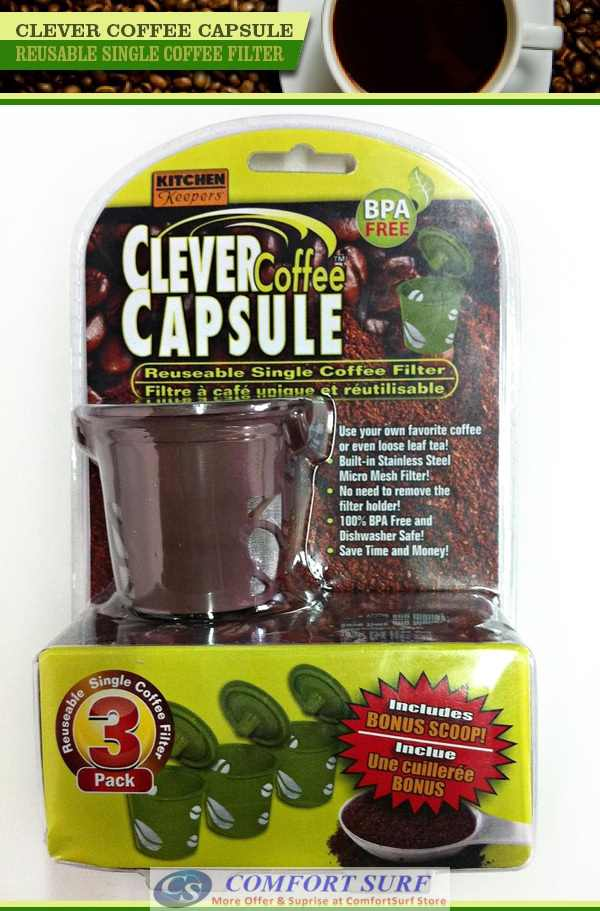 Best Kitchen Keeper Clever Coffee Capsule