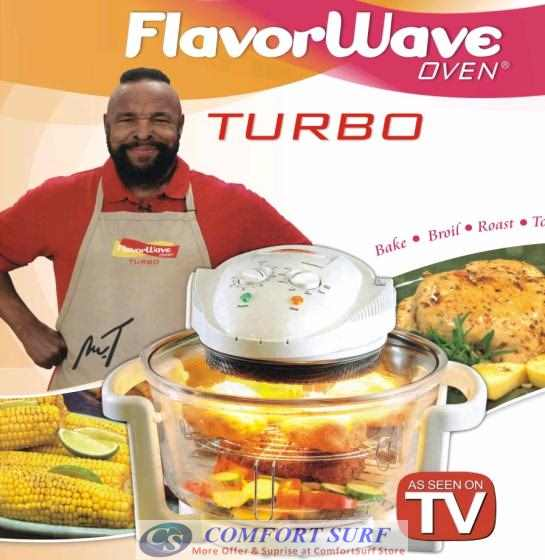 Multipurpose Flavorwave Oven Turbo - Halogen Convection Oven