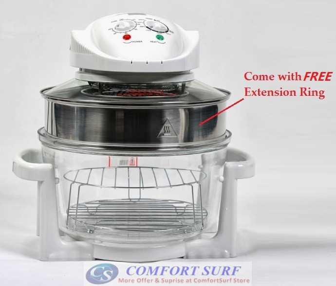 Multipurpose Flavorwave Oven Turbo - Halogen Convection Oven