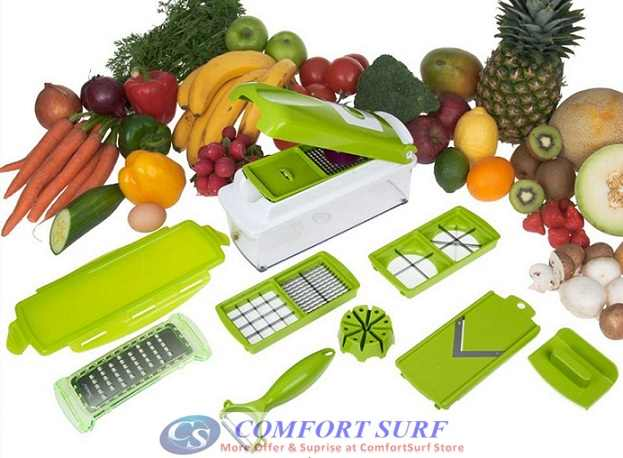 Multipurpose Kitchen Tool Nicer Dicer Plus-Vege, Fruit, Food Chopper, Blader, Slicer