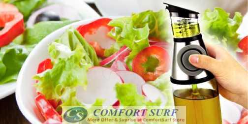Press & Measure Oil & Vinegar Dispenser